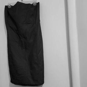 Dark Navy Blue sleeveless dress